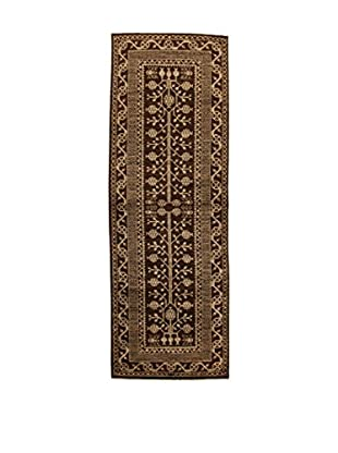 Design Community By Loomier Teppich Bamiyan braun 100 x 295 cm