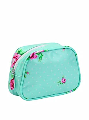 Royal Albert New Country Roses Polka Make Up Bag, Blue