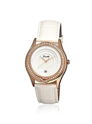 Bertha Women's BR4105 Patricia White Leather Watch