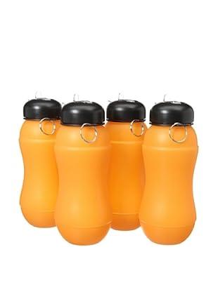 AdNArt Set of 4 Sili-Squeeze (Orange)