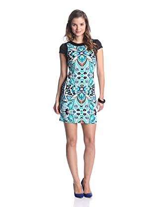 Ali Ro Women's Bryce Drop-Waist Dress (Dragonfly Multi)