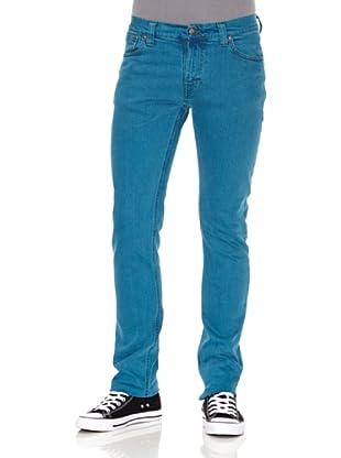 Nudie Jeans Pantalón Finn Blue (Turquesa)