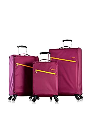 Olympia Cloud Ultralight 3-Pc Spinner Set, Plum