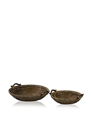 Oversized Willow Trays