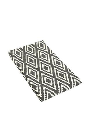 Glam Home Teppich Nirmal grau/weiß