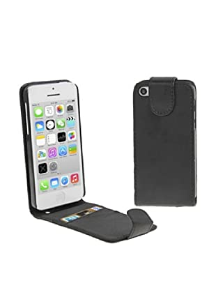 Unotec Funda Flip Vertical Para Iphone 5C Negra