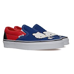 Classic Blue Colored Casual Slip - On Shoes for Women - Model Number VN-0QFD66W by Vans