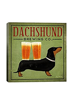 Ryan Fowler Dachshund Brewing Co. Gallery Wrapped Canvas Print