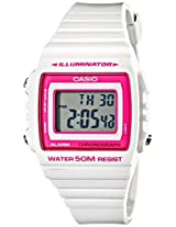 Casio Casio Kids W-215H-7A2Vcf Classic Stainless Steel Watch With White Band - W-215H-7A2Vcf