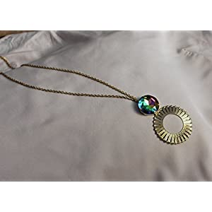 No Strings Attached Multihued Suncatcher Pendant Chain