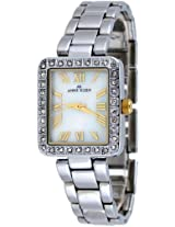 Anne Klein Stainless Steel Swarovski Ladies Watch 10-9623Mptt