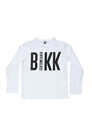 BIKKEMBERGS Camiseta Kids (blanco)