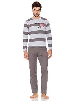 Abanderado Pijama Caballero Rayas (gris vigore)