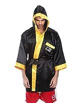 Invincible Pro Boxing Gown, Medium (Black/Gold)