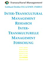 INTER-TRANSCULTURAL MANAGEMENT  RESEARCH -  INTER-TRANSKULTURELLE  MANAGEMENT  FORSCHUNG (Russian Edition)