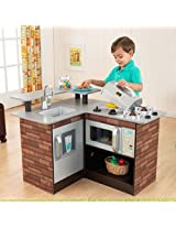 Kidkraft Chillin & Grillin Wooden Kitchen Chill and Grill 53311 Brand New