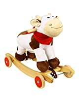 Milka Cow With Wheels Handle & Music