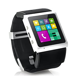 Android Smart Watch Phone, Wi-Fi, GPS, 3MP Camera - 1.54 Inch Screen, 1GHz Dual Core CPU, Bluetooth 4.0