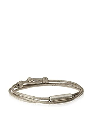 Griffin Grey Oxidized Silver Easton Convertible Triple Wrap Bracelet