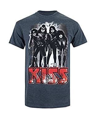 ICONIC COLLECTION - KISS Camiseta Manga Corta Retro