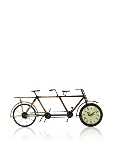 Industrial Chic Bicycle Clock