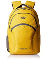 Wildcraft Nylon 21 Ltrs Yellow Laptop Bag (Ace 2_Yellow)
