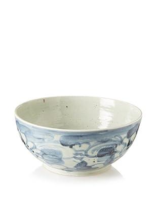 Soft Blue Floral Bowl
