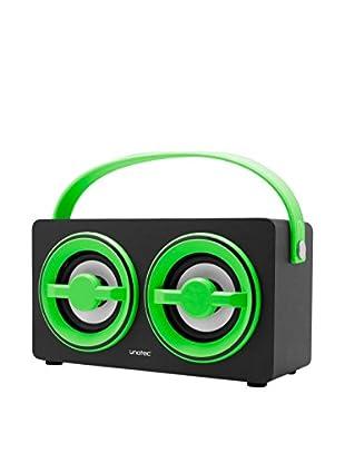 ZZ-UNOTEC Altavoz Bluetooth Xkutcher Verde