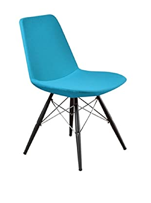 Aeon Furniture Paris 5 Side Chair, Set of 2, Turquoise