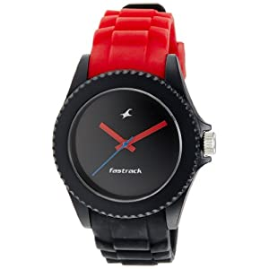 Fastrack Tees Analog Black Dial Unisex Watch - ND9911PP13J