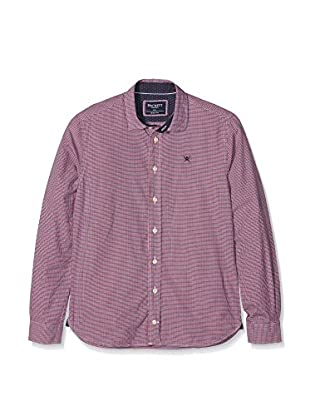 Hackett London Camisa Casual Mini Check Y