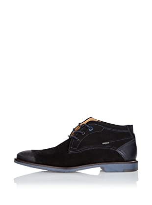 Fretz Men Zapatos Lee (Negro / Azul)