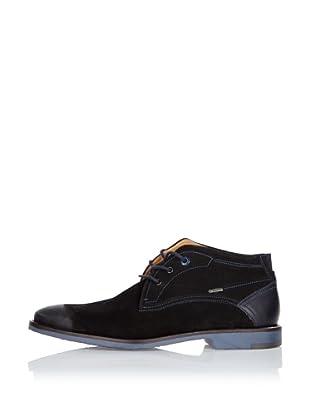 Fretz Men Zapatos Lee (Negro / Azul)