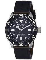 Nautica Sports Analog Black Dial Men's Watch - NTA09600G