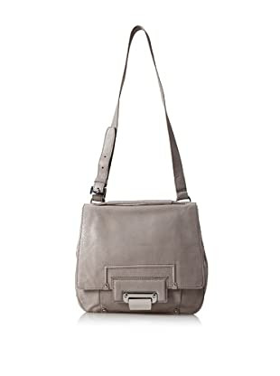 Kooba Jude Flap Shoulder Bag (Grey Snake)