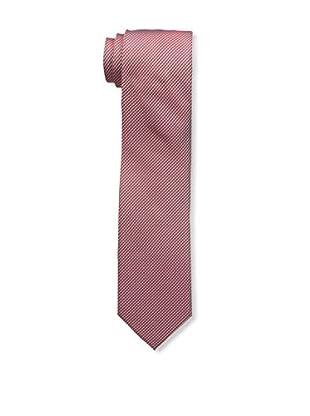 Bruno Piattelli Men's Woven Tie, Faded Red