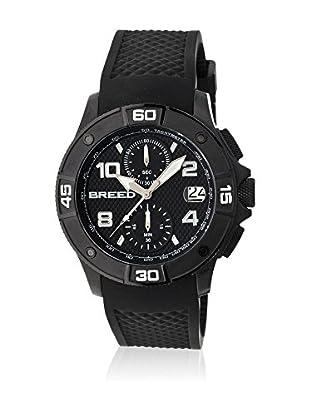 Breed Reloj con movimiento cuarzo japonés Brd5806 Negro 42  mm