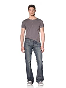 Earnest Sewn Men's Hutch Bootcut Jean (Carter)