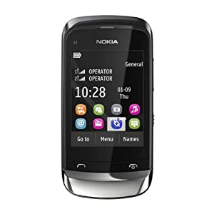 Nokia C2-06 Touch & Type Mobile Phone