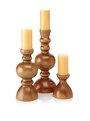 Jamie Young 3-Piece Claire Candlestick Set