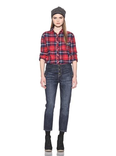 Marni X Current/Elliot Women's Studio 3 The Easy Trouser Jean (Loved)