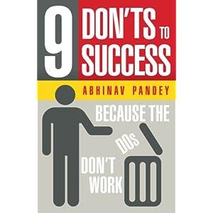 9 Don'ts to Success