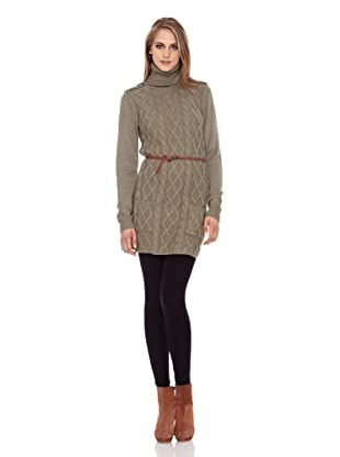Pepe Jeans London Kleid Sierra Os (Khaki)