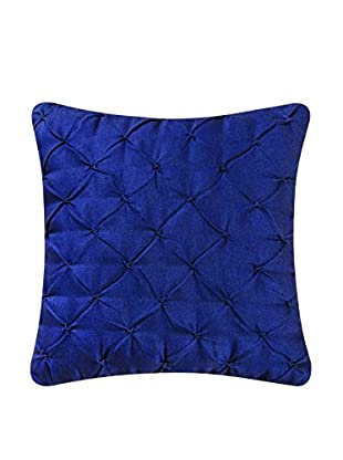 Diamond Tuck Feather Down Pillow, Navy
