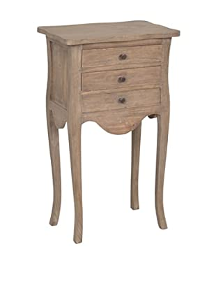 Jeffan Promenade 3-Drawer Accent Table