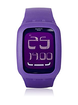 Swatch Quarzuhr Unisex Unisex TOUCH PURPLE SURV100 39.0 mm