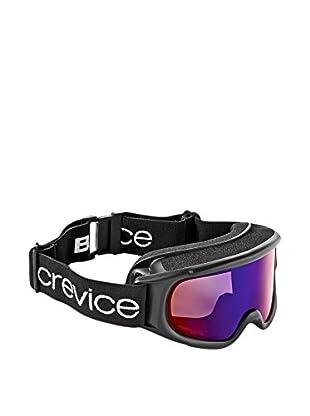 Black Crevice Skibrille  schwarz/blau