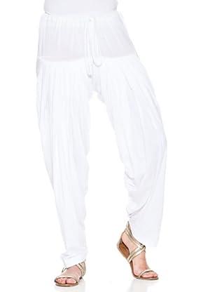 Mahal Pantalón Liso (Blanco)