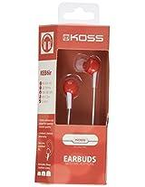 Koss 181058 Keb6i In-Ear Headphones (Red)