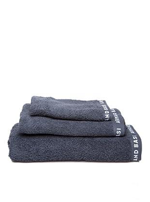 Armand Basi Estuche de toallas Logo (Gris)